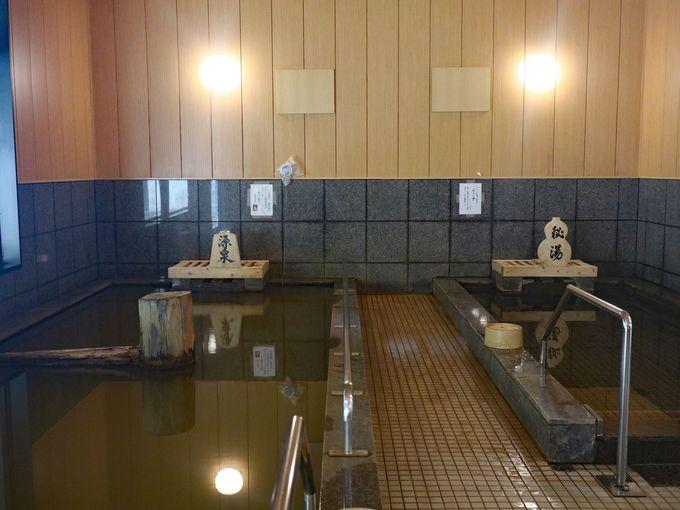 掛け流しの濁り湯、須賀谷温泉