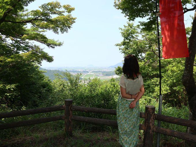 小谷城址や向源寺(渡岸寺観音堂)の十一面観音立像を訪ねて