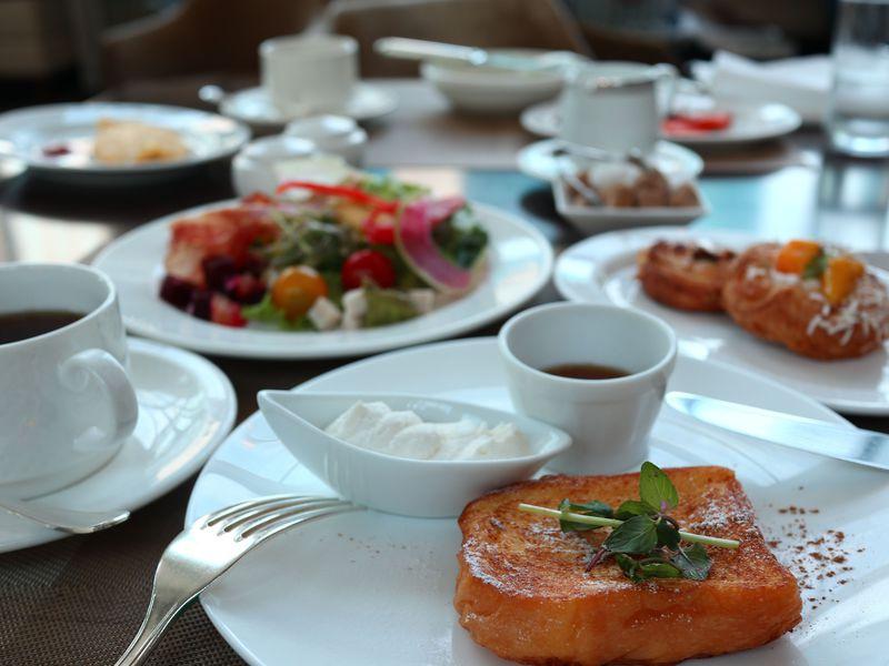 コンラッド東京の朝食はセリーズで