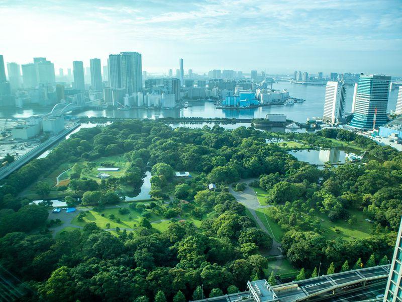 絶景を臨むラグジュアリーホテル「コンラッド東京」
