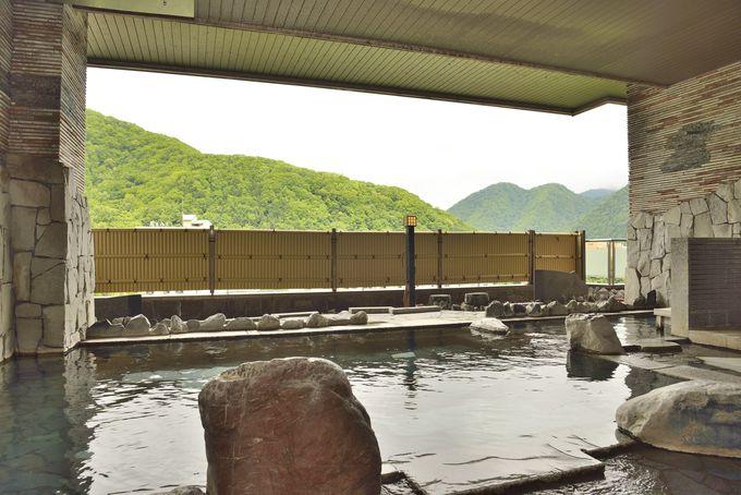 ホテルミリオーネなら定山渓温泉を掛け流しで