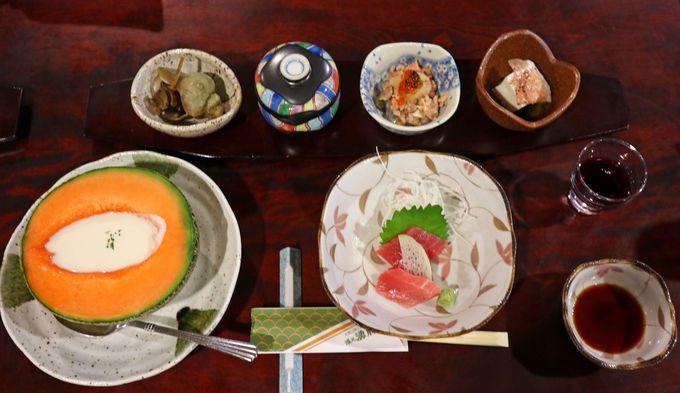 メロンのヴィシソワーズ!夕食が楽しみな湯元 湧駒荘