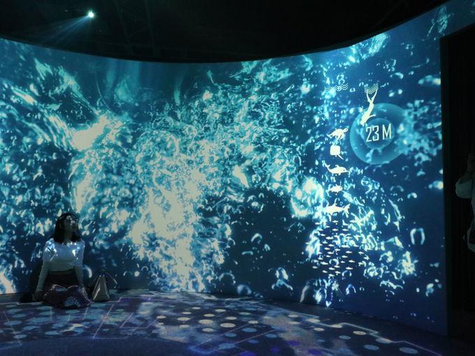水深6500mの深海を体験する