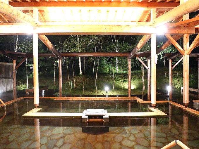 安比温泉「白樺の湯」には北東北最大級の露天風呂