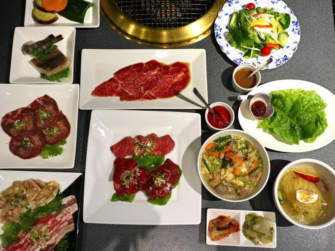 焼肉レストラン「李朝苑」で極上前沢牛