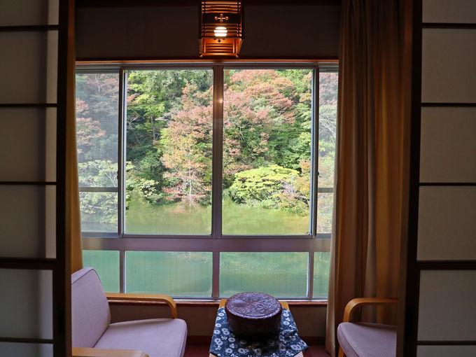 宿泊:湯原温泉の風情ある温泉旅館「元禄旅籠 油屋」