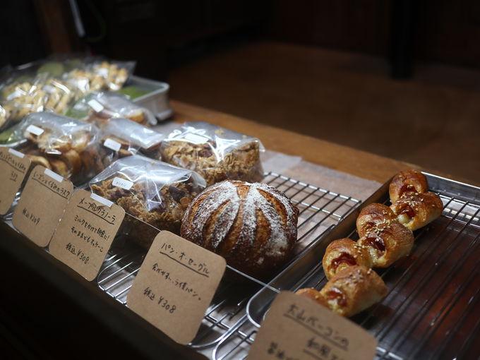 1日目昼:湯原温泉の足湯カフェ「picnic or market?」