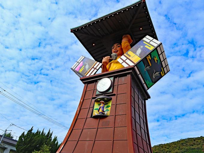 1日目午前中:おもちゃの街!湯郷温泉