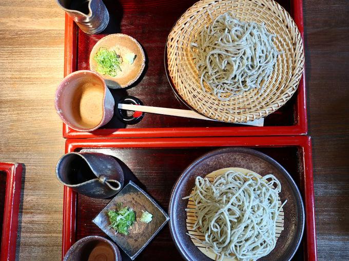 ランチ:蕎麦の香りを楽しむ勝山の「一心庵」