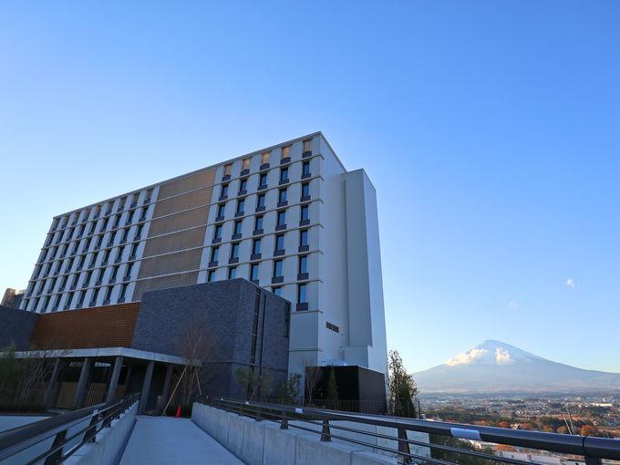 御殿場と富士山と「HOTEL CLAD」