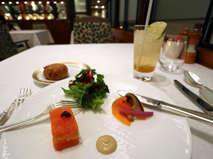 「小田急 山のホテル」の食事と温泉を楽しんで
