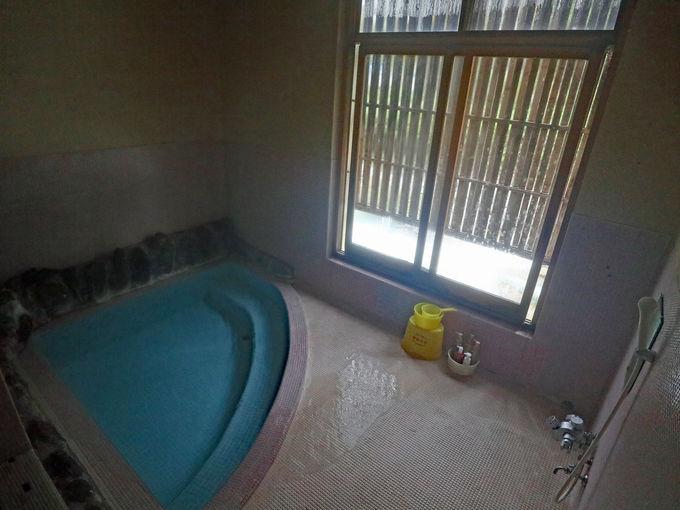 「友家ホテル」でお風呂巡り
