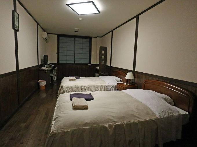 マタギの湯の客室は洋室に和室、シングルルームも