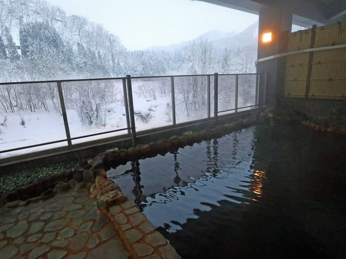 打当温泉を「マタギの湯」で楽しむ