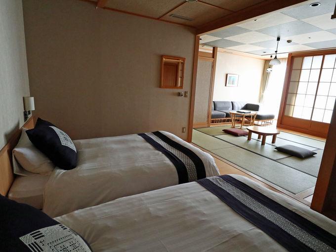 露天風呂付き和洋室から、一人旅に便利なシングルルームまで