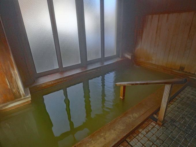 「いわき荘」の温泉は名湯 百沢温泉