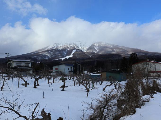 パワースポット岩木山の麓のアソベの森と「いわき荘」