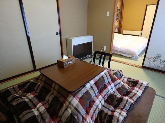 同じお部屋のない「日景温泉」の客室