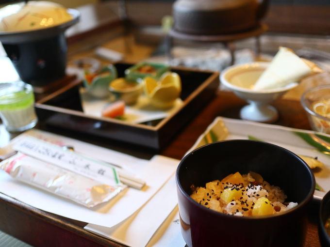 「山木館」の食の愉しみ