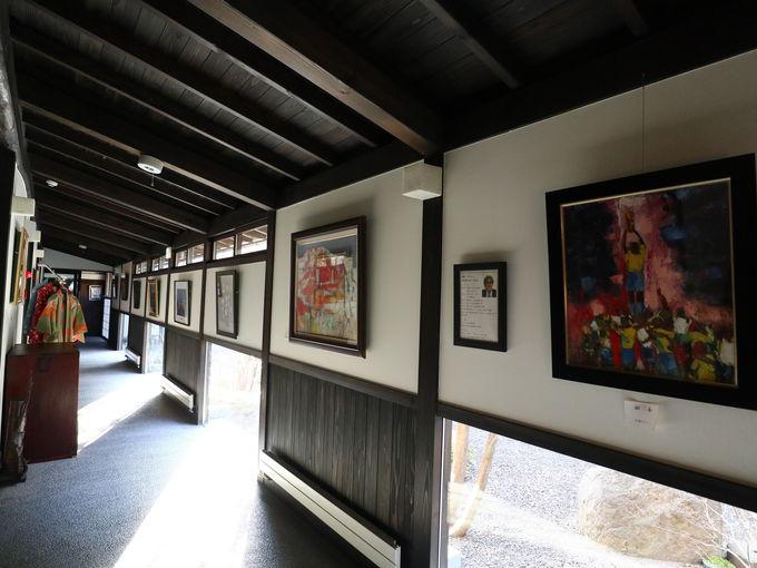 「山木館」の館内でお気に入りの場所を探そう