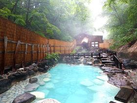 「蔵王温泉大露天風呂」ここに行きたい!魅惑の山形、濁り湯露天