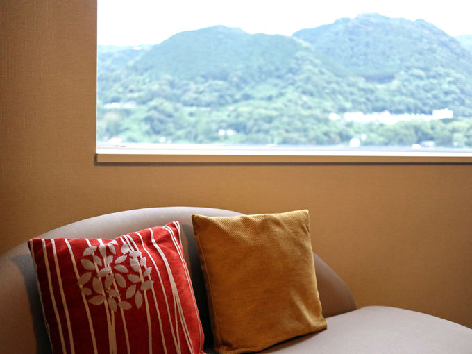 別府湾や夜景など、眺めも良い「別府亀の井ホテル」
