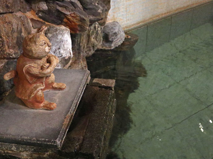 お風呂は台温泉を源泉掛け流しで