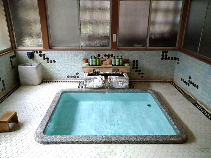 自家源泉掛け流し!「向瀧」お風呂のこだわり