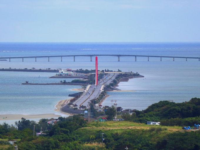 うるまの海の絶景!勝連半島と離島を結ぶ「海中道路」