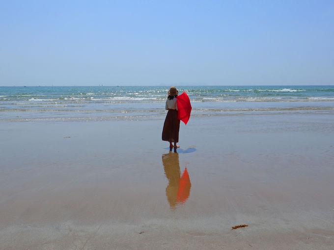 「かがみの海」の撮影ポイントとは