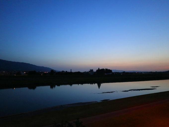 窓から筑後川を楽しむ原鶴温泉「延命館」