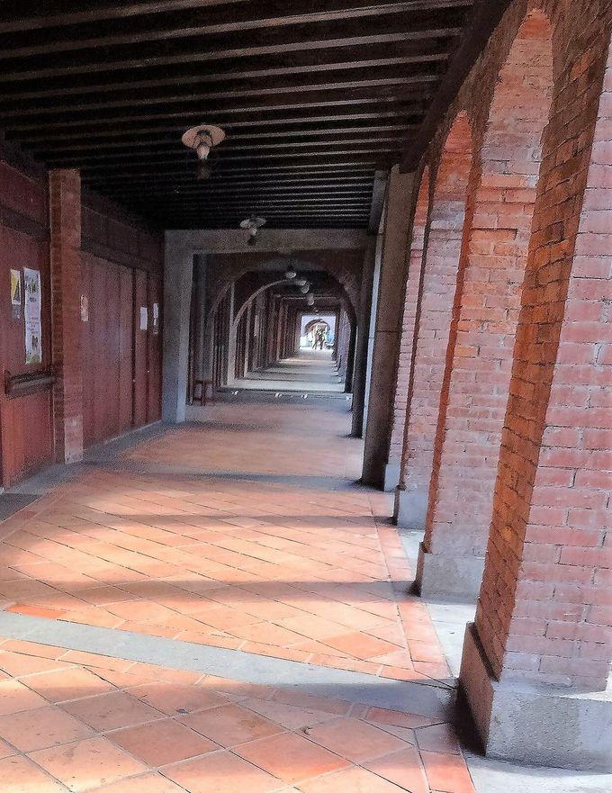 歴史を見つめた「剥皮寮歴史街区」