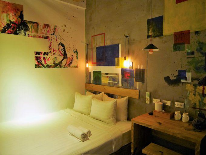 全室違う手作りのアート部屋