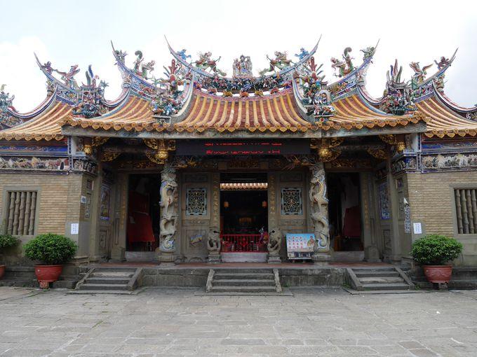 北埔の中心「北埔慈天宮」