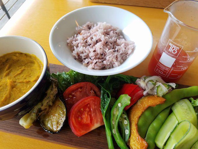 やさしいおいしさ!「近江有機野菜のスープカレー」