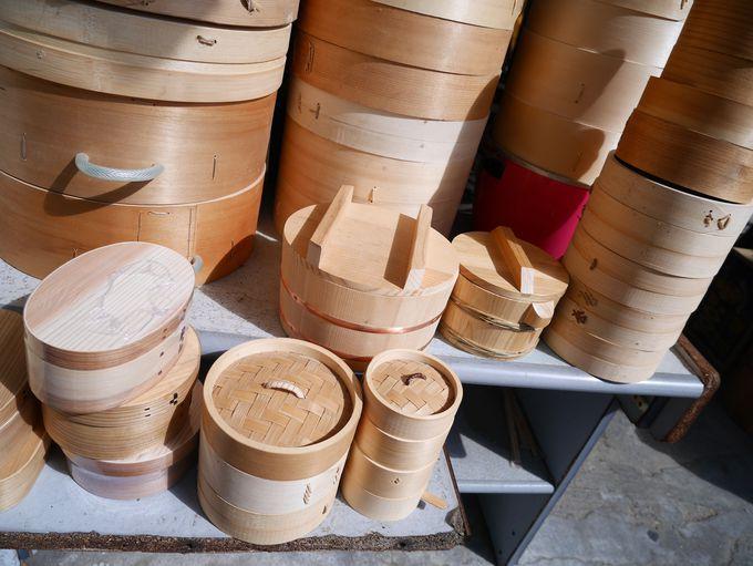 伝統をつなぐ竹の手仕事・萬先蒸籠店
