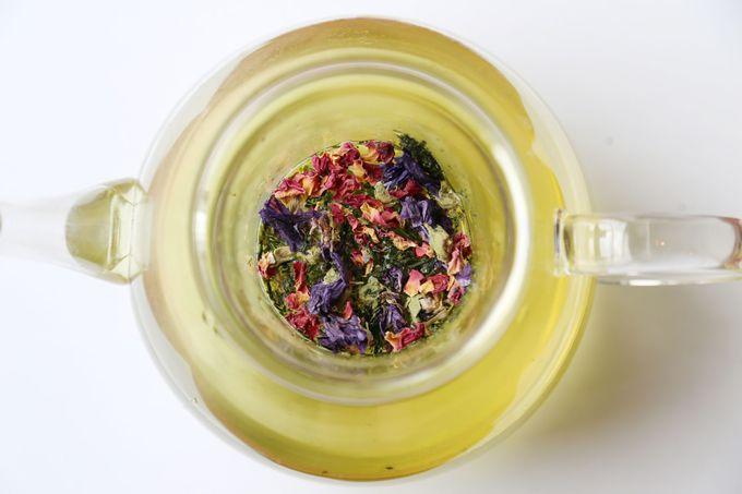 """香り豊かな色づくお茶""""はなぎょくろ"""""""