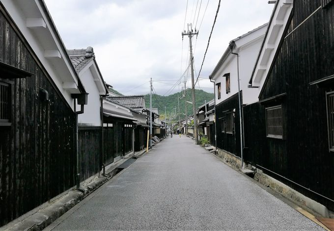 歴史が息づく近江八幡の街並み
