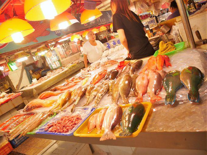 海鮮オンパレード!「華僑市場」