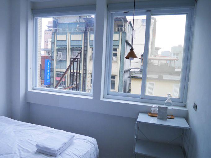 「何もない」を楽しむシンプルな客室