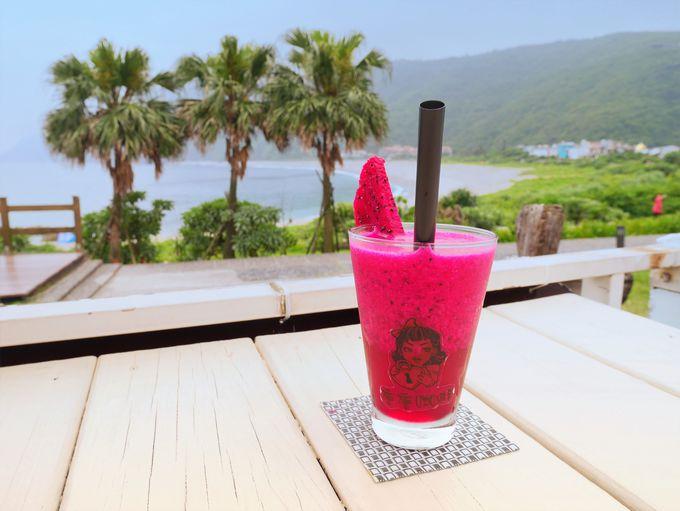 海の見えるカフェ「唐唐珈琲」