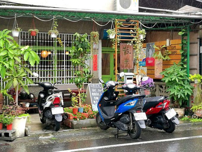 静かな路地の隠れ家「散歩CAFE SANPO」