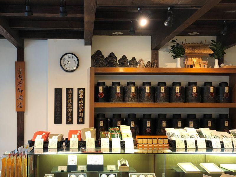 近江の茶ここにあり!日本茶発祥の地・滋賀「中川誠盛堂茶舗」