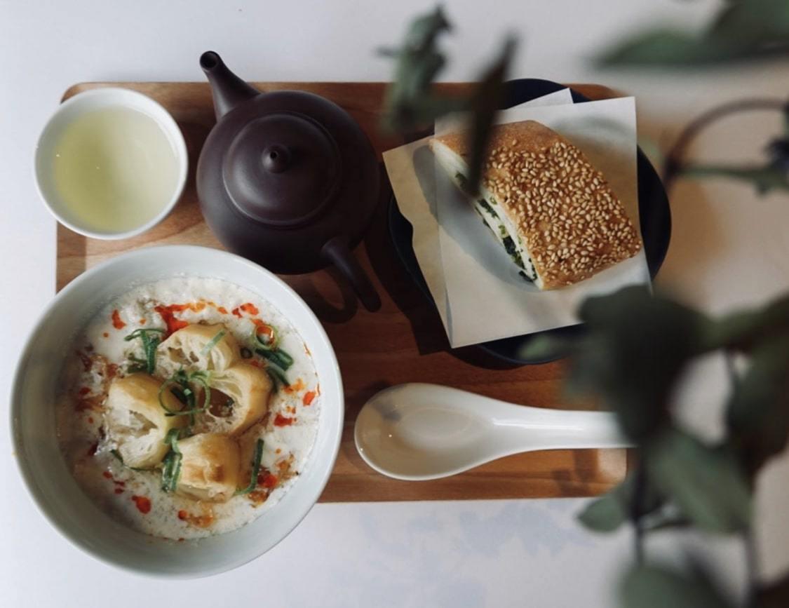 出町柳の京町家で九条ねぎブランチ!台湾茶専門店「福到 FUDAO」