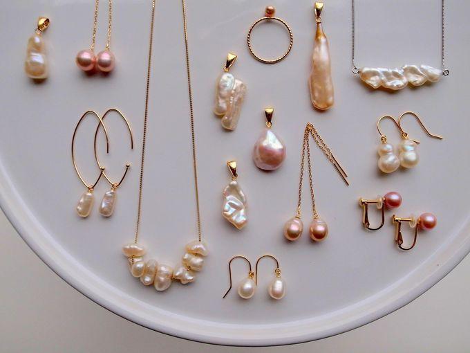 私だけの、ときめく一点もの真珠アクセサリー