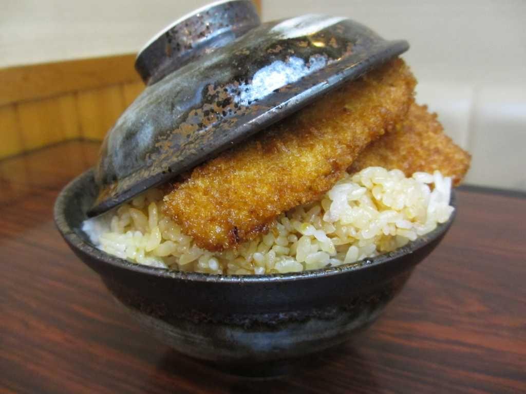 とんかつ政ちゃんの「新潟タレかつ丼」