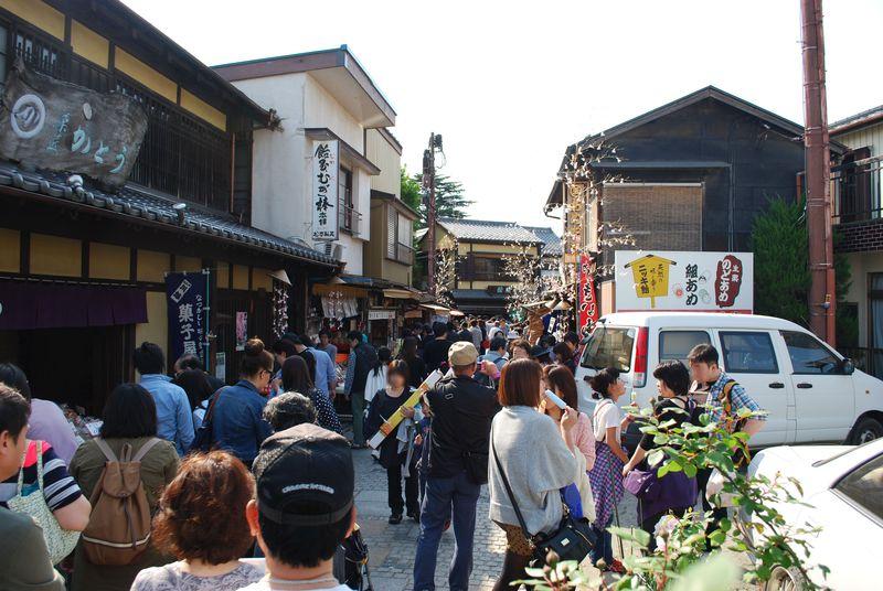 川越・かおり風景100選に選ばれた『菓子屋横丁』をぶらり散歩。