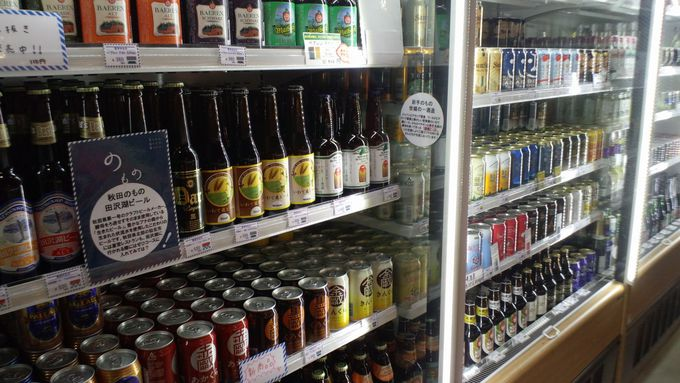 「のもの」では50種類のクラフトビールを販売