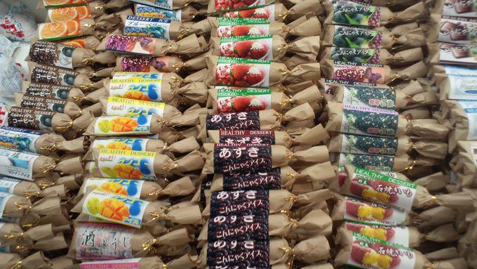コンニャク入りアイスキャンディーは『美腸活動』にもお勧め!!