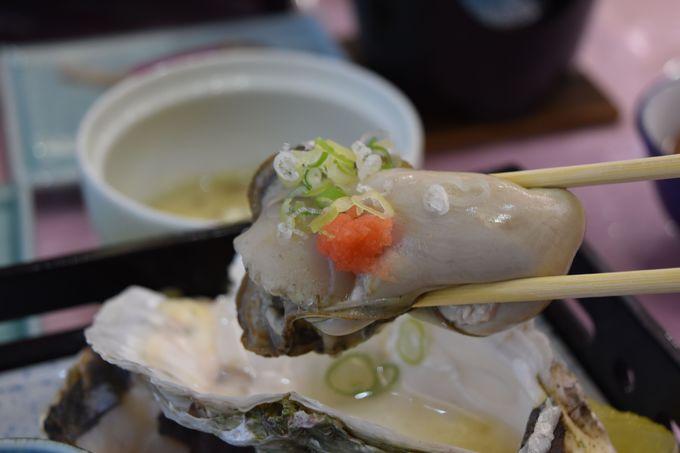 日本海の宝物!!岩牡蠣を召し上がれ